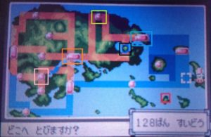 エメラルド タウンマップ