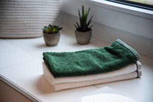 風呂上がりのバスタオル