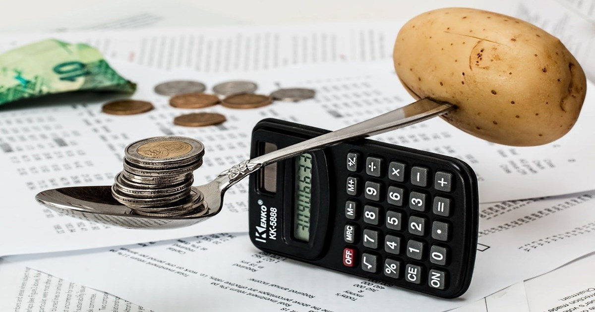 電卓でお金を計算する