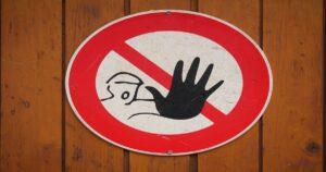 注意一時停止の標識